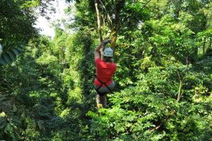 Hacienda Guachipelin Adventure Tours in the Rincon de La Vieja National Park, Costa Rica