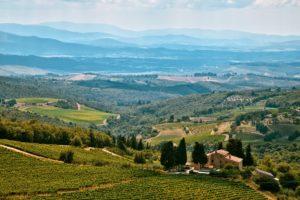 Biking Through the Vineyards of Chianti, Italy